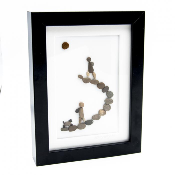 Tablou Keep Walking - Colectia Pebble Art 2