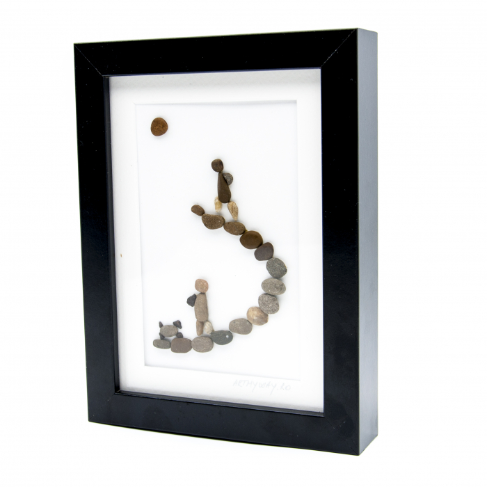 Tablou Keep Walking - Colectia Pebble Art 1