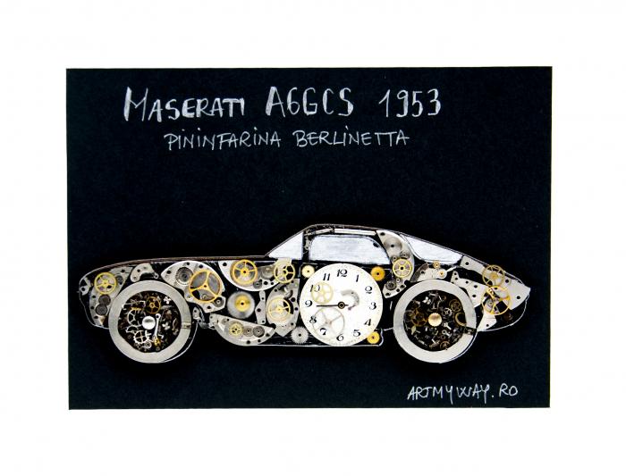 Tablou Maserati A6GCS 1953 - Pininfarina Berlinetta 1