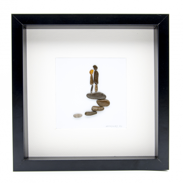 Tablou ' Me and You ' - Colectia Pebble Art 0