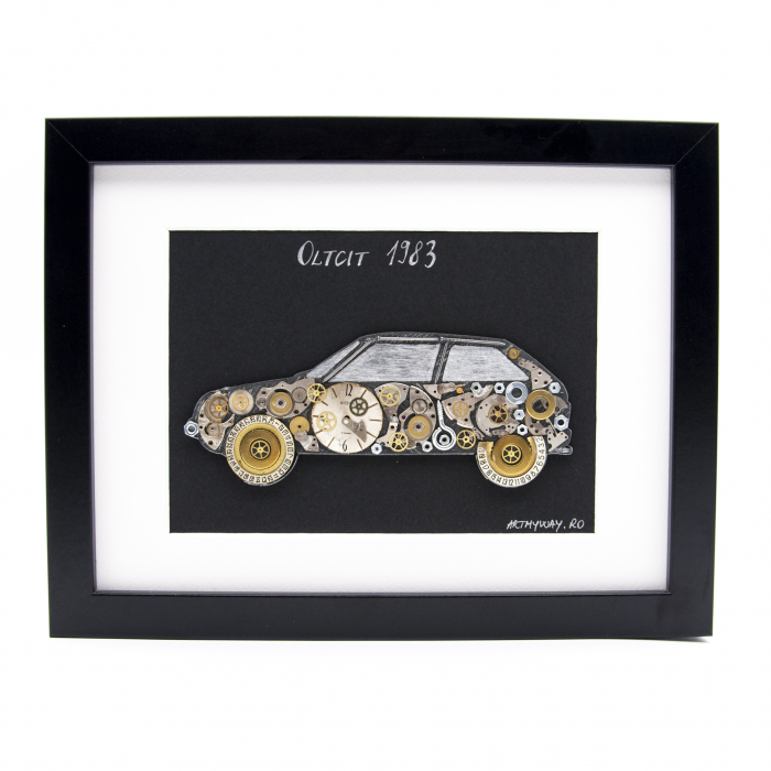 Tablou Oltcit 1983 - Colectia ART my Cars 0