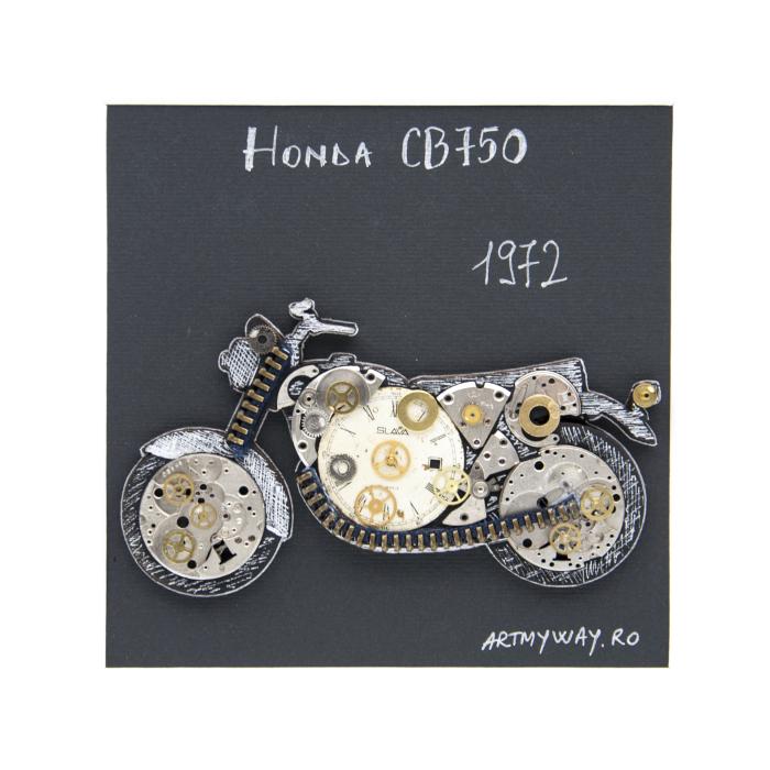 Tablou Honda CB750 1972 - Colectia Born to Ride