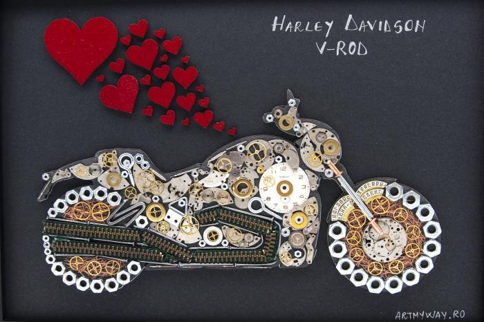Tablou Harley Davidson V-ROD 3