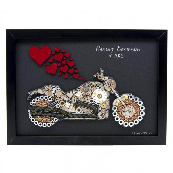 Tablou Harley Davidson V-ROD 0