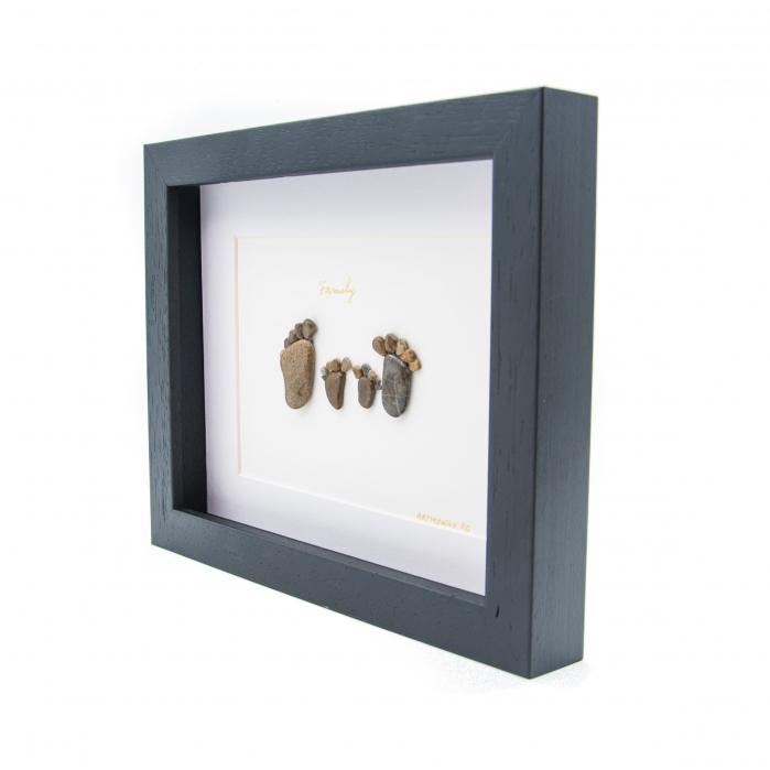 Tablou My Family 4- Colectia Pebble Art_v2 2