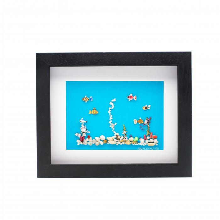 Tablou Aquarium - Colectia Pebble Art 0