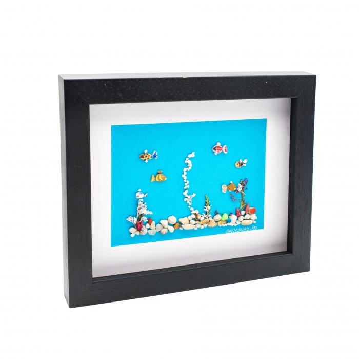Tablou Aquarium - Colectia Pebble Art 3