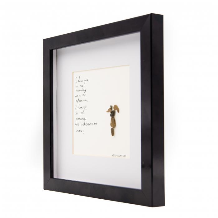 Tablou MOTHER'S LOVE - Colectia Pebble Art