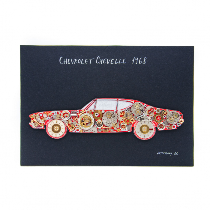 Tablou CHEVROLET CHEVELLE 1968 - Colectia ART my Cars 0
