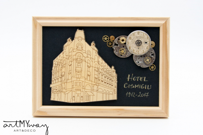 Tablou Hotel Cismigiu  - Colectia SteamWall 0