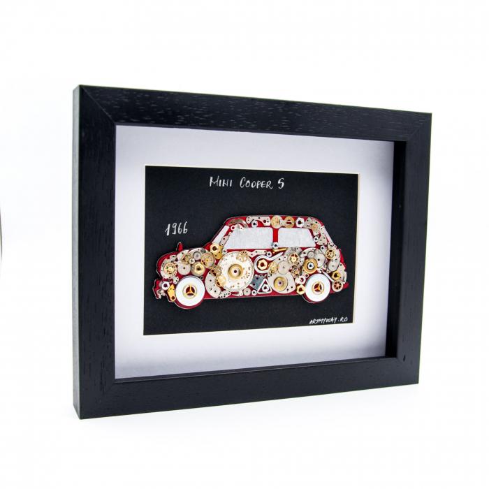 Tablou Mini Cooper S 1966- Colectia ART my Cars [1]