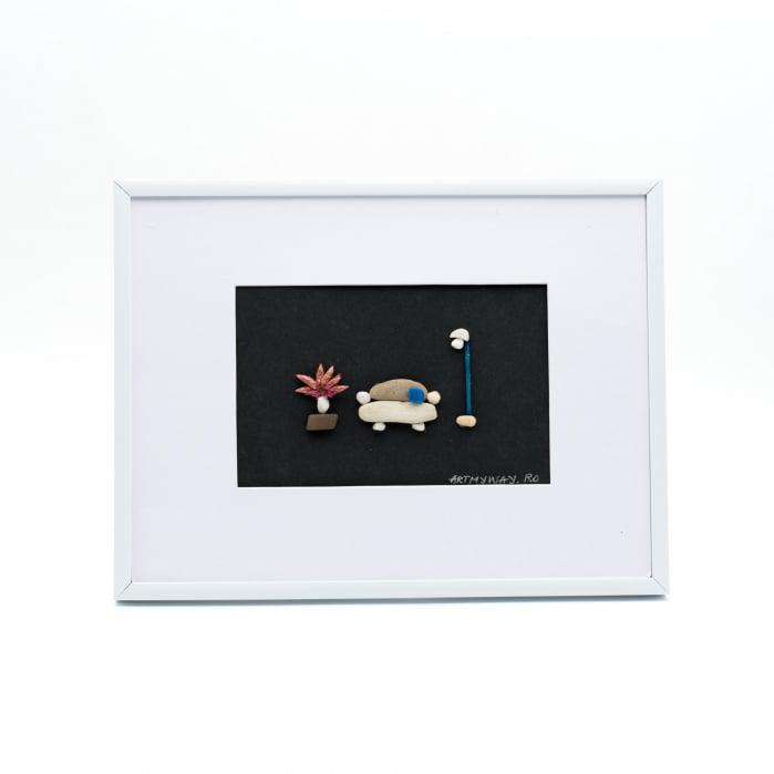 Tablou Quiet Day - Colectia Pebble Art - EDITIE LIMITATA