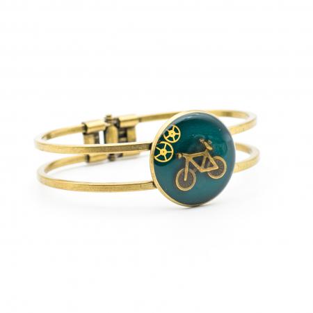 Bratara Verde Smarald - Bicicleta2