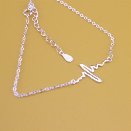 Bratara HEARTBEAT Flexi Argint 925 [4]