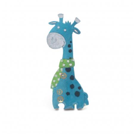 Brosa Albastra -Girafa0