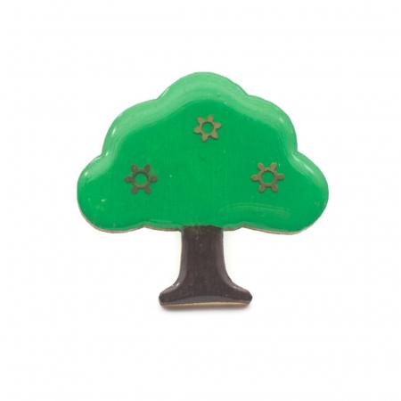 Brosa Lemn Copacul Vietii0