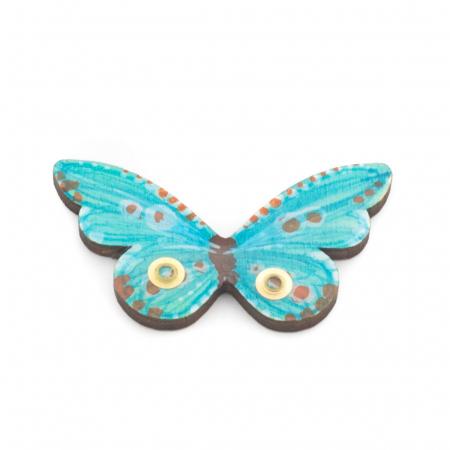 Brosa Lemn Fluture0