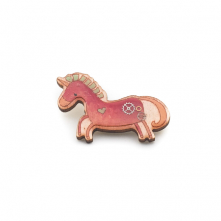 Brosa Unicorn Roz0