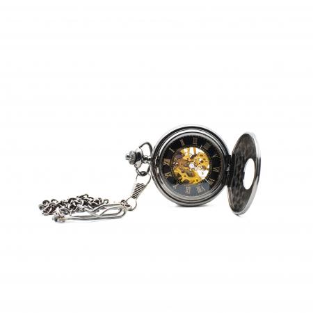 Ceas de Buzunar Mecanic - Colectia SteamWall2