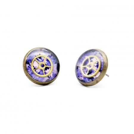 Cercei Surub - Multicolor Roz / Bleu2
