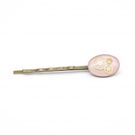 AGRAFA Roz - accesoriu UNICAT pentru par