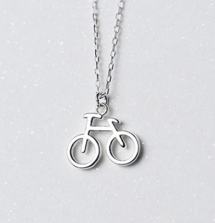 Colier BICICLETA,  Argint 9250