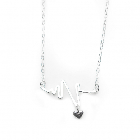 Colier HEARTBEAT -  Argint 9252