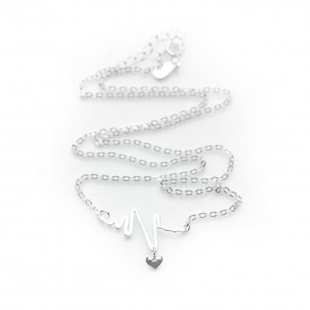 Colier HEARTBEAT -  Argint 9251