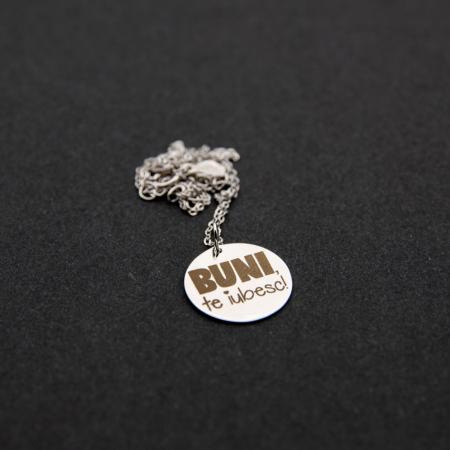 Colier BUNI, TE IUBESC - Argint 925 placat cu aur5