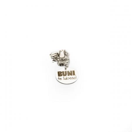Colier BUNI, TE IUBESC - Argint 925 placat cu aur7