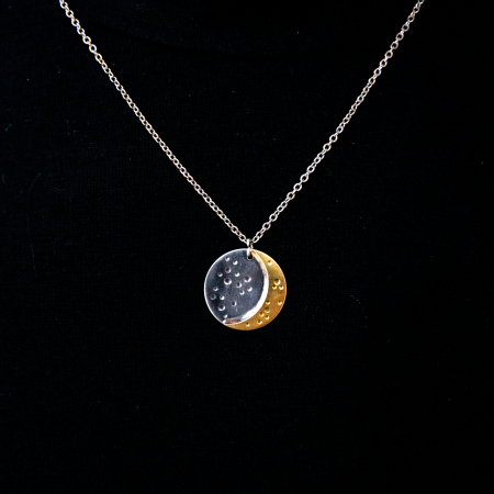 Colier CRESCENT MOON - Argint 9250