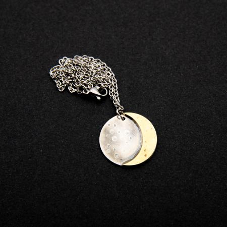 Colier CRESCENT MOON - Argint 9253