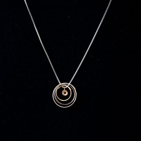 Colier PURE LOVE - Argint 925 placat cu Aur8