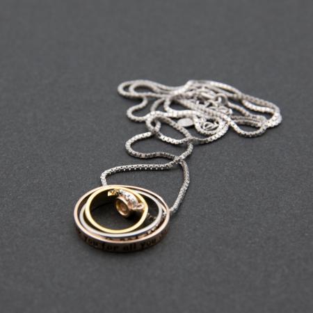 Colier PURE LOVE - Argint 925 placat cu Aur6