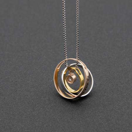 Colier PURE LOVE - Argint 925 placat cu Aur7