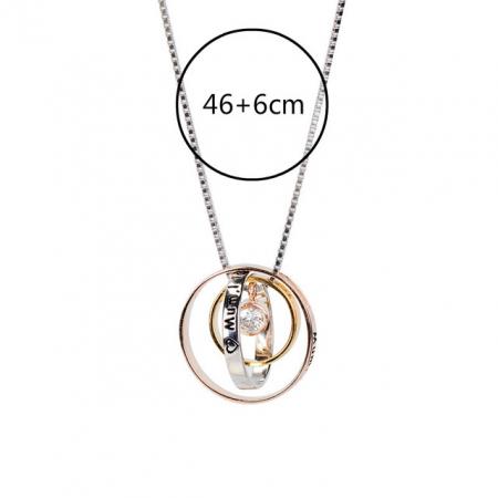 Colier PURE LOVE - Argint 925 placat cu Aur11