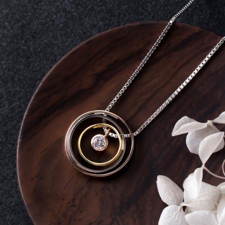 Colier PURE LOVE - Argint 925 placat cu Aur1