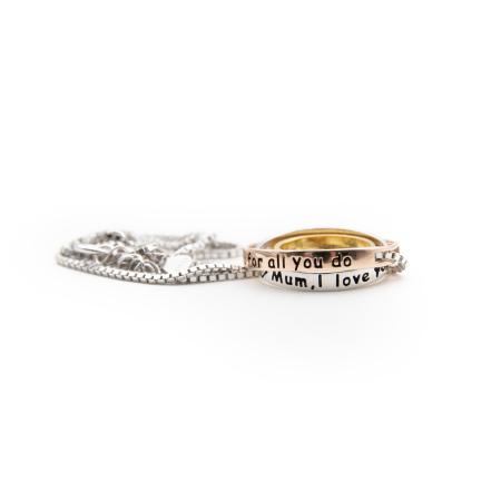 Colier PURE LOVE - Argint 925 placat cu Aur2