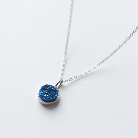 Colier DEEP BLUE - Argint 9253