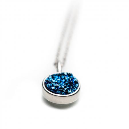 Colier DEEP BLUE - Argint 9251
