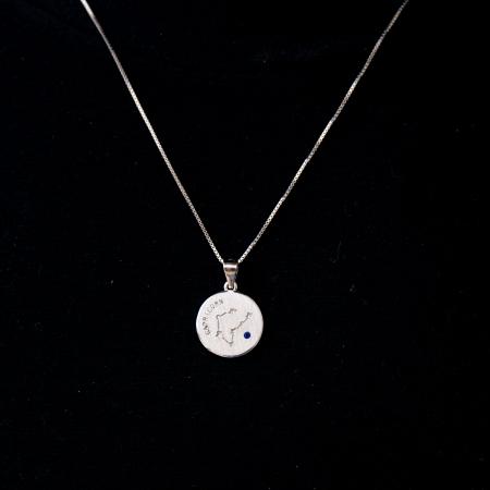 Colier Zodiac CAPRICORN - Argint 9250