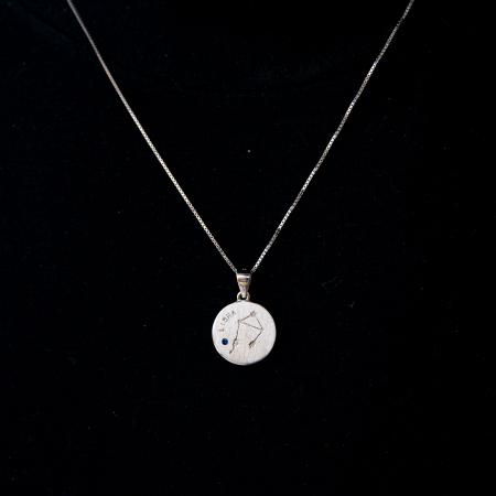 Colier Zodiac BALANTA / Libra - Argint 9250