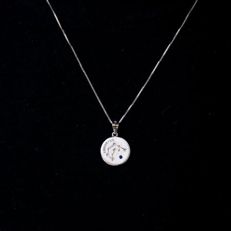 Colier Zodiac VARSATOR / Aquarius - Argint 9250