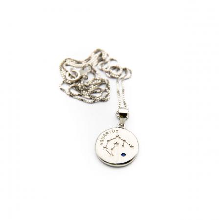 Colier Zodiac VARSATOR / Aquarius - Argint 9251