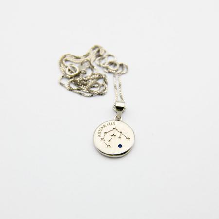 Colier Zodiac VARSATOR / Aquarius - Argint 9253