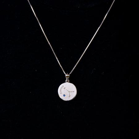 Colier Zodiac RAC / Cancer - Argint 9250