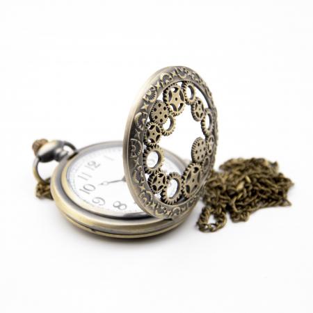 Ceas de Buzunar Vintage - Colectia SteamWall