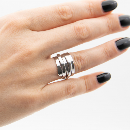 Inel TWISTED Argint 9250