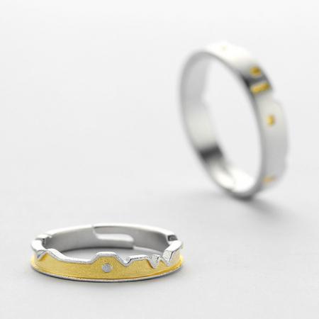 Set Inele CASTLES - Argint 9252