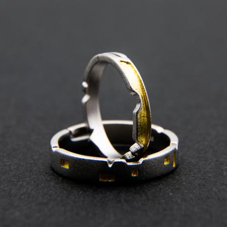 Inel CASTLE OF LOVE - Argint 9252